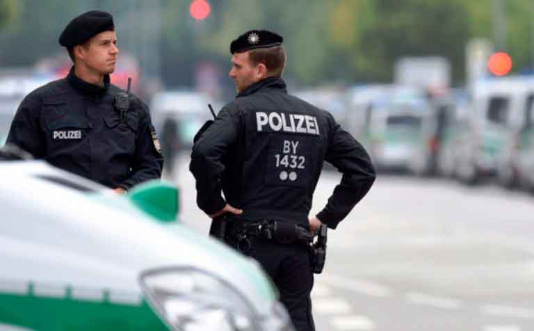 Полиция-германии