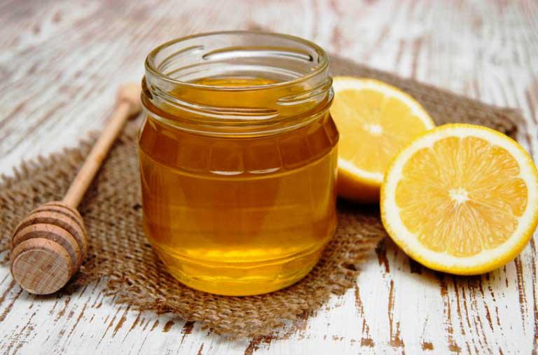 Медово-лимонная-маска-для-лица