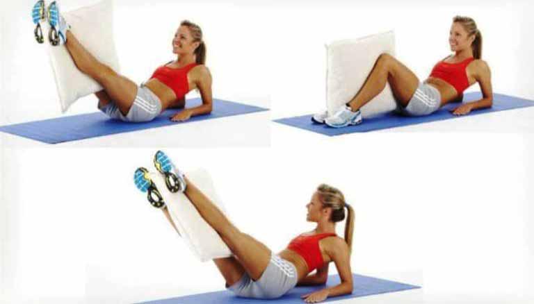 Спортивные-упражнения-с-подушкой